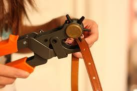 leather belt hole puncher heavy duty punch pliers