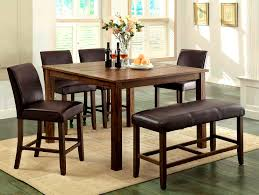 small dining bench: furniturestunning seat dining bench gallery room set seating with maple table chairs sets and