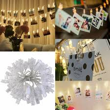 Photo Clip String Lights Walmart Home In 2019 Stuff To Buy Christmas String Lights
