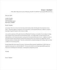 Internship Application Cover Letter Job Position Application Cover
