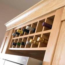 Amazing Gallery Red River Remodelers Wine Rack Built In Above Inside How To  Build A Wine Rack In A Cabinet ...