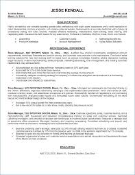Retail Store Manager Resume Examples Resume Layout Com