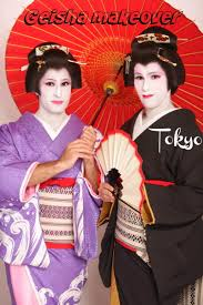 geisha makeover for men