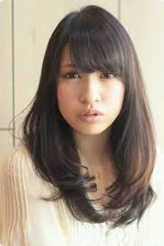 黒髪ロング 2012 冬 流行ヘアスタイル 094 ヘアカタログ銀座の美容
