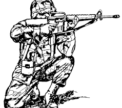 Overwatch Soldier Coloring Pages Army Colouring Pdf Lego Soldiers