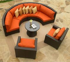 incredible round sectional patio furniture patio furniture round sofa13012004 ongek inspiration
