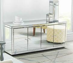 modern mirrored furniture. mirrored side board glass cabinet mirror silver tv stand modern furniture black o