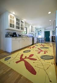 View full sizeThe OregonianA painted floor can become artwork in the room.