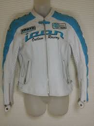 icon kitty jacket l women s white leather motorcycle armored removable liner