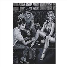 james dean audrey hepburn and marilyn monroe giant poster  on marilyn monroe tattoo wall art with james dean audrey hepburn and marilyn monroe giant poster