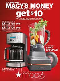 Macys Kitchen Appliances Macys Flyer September 21 26 2016 Http Wwwolcatalogcom