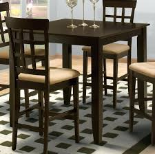New Classic Style Square Counter Height Kitchen Table Boulevard Home