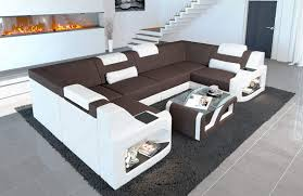 Sofa Dreams Stoff Wohnlandschaft Padua U Modern Mit Led