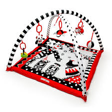black and white pictures for babies printable black white red activity 3d playmat gym