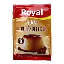 Flan Royal dulce de leche 40 grs