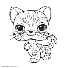 LPS coloring book