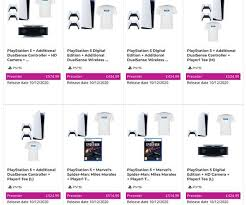 If you use your console purely for gaming, however, or have a speedy and robust internet connection for streaming and downloading and can cope with storing games digitally rather than on. Ps5 Game Stock Update Playstation 5 Pre Order Bundles Sell Out Currys Pc World Next Bet Gaming Entertainment Express Co Uk