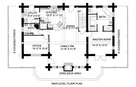 Log Home Plans Floor Plan House Ranch Small Cabin Homes 2 Story