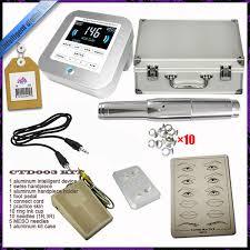 high quality digital permanent makeup machine handpiece tattoo gun for eyebrow eyeliner