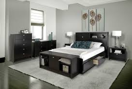 prepac black series 9 designer bedroom set mid sized contemporary guest bedroom idea in vancouver with aspen white painted bedroom