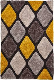 noble house rugs nh 9247 grey yellow rug