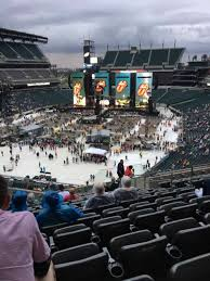 Lincoln Financial Field Seating Chart Rolling Stones Concert Photos At Lincoln Financial Field