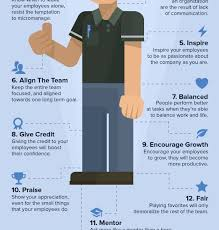 Good Work Traits Infographic 12 Outstanding Traits Of A Great Boss
