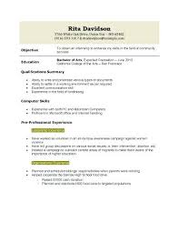 resume for college student with no experience resume for undergraduate college student with no experience delli