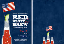 Red White And You 4th Of July Invitation Ideas And