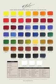 M Graham Color Chart Pin On Art Ideas