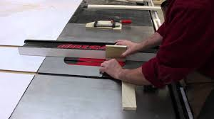 make a quick and simple cabinet door solely on a sawstop