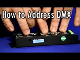 Understanding Dmx Addressing With Dip Switch Binary Code