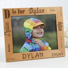 alphabet name personalized frame 8 x 10