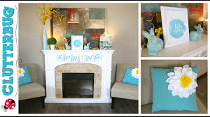decorate for spring and easter with me dollar tree decor ideas