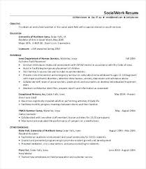 social workers resumes sample social work resume foodcity me