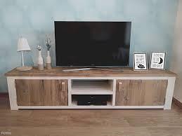 tv kast. landelijk tv meubel van steigerhout tv kast i
