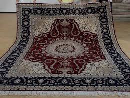 8 x 10 hand knotted brand new wool and silk sino persian tabriz oriental area rug 12980572 goodluck rugs