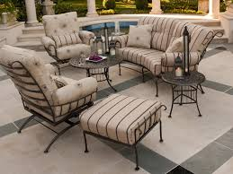 Bedroom Wrought Iron Patio Furniture Hgtv Outdoor Stupendous