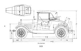 ford model a body dimensions motor hem 28 29 cabriolet