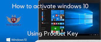 activate windows 10 pro key 2019