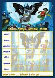 Free Printable Batman Reward Charts Download Them Or Print