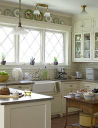 window trimoldings fit farmhouse kitchens really well