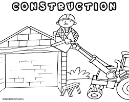 Small Picture Construction coloring pages Coloring pages to download and print