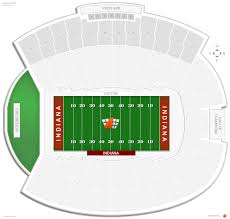 Memorial Stadium In Indiana Seating Guide