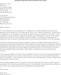 Sample Security Resume Cover Letter Security Cover Letter Security