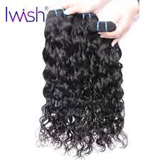 Iwish Indian Water Wave Hair 100