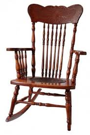 wooden rocking chair. antique wooden rocking chair d