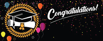 Congratulations For Graduation Congratulations Graduation Black With Coloured Balloons Design Medium Personalised Banner 6ft X 2 25ft