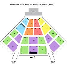 Timberwolf Amphitheatre Seating Chart Tickets Spirit Song In Kings Island Oh Itickets
