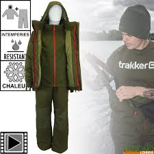Trakker core <b>3 piece winter</b> suit – Chrono Carp ©